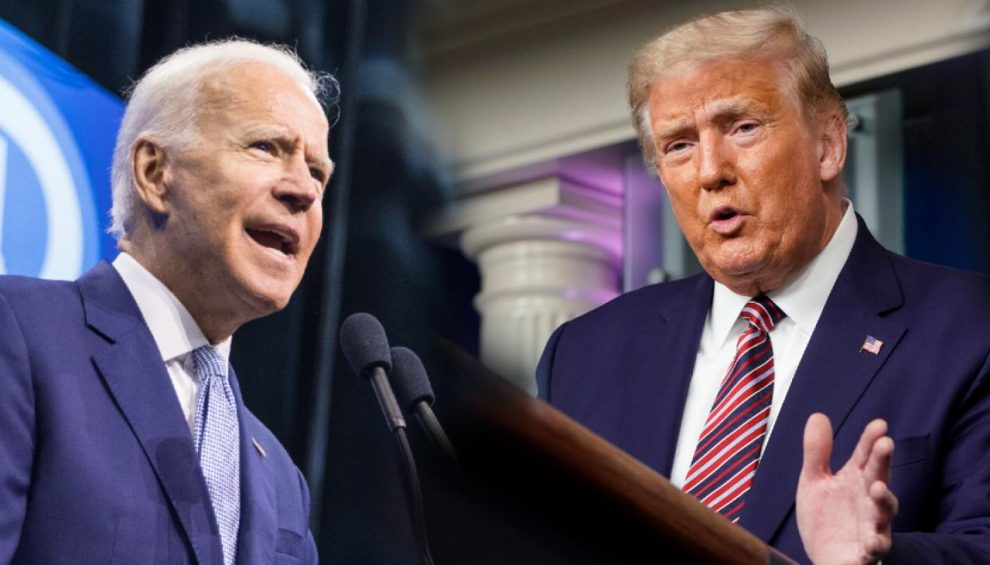 Joe Biden vs Donald Trump