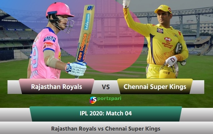 IPL match CSK Vs RR