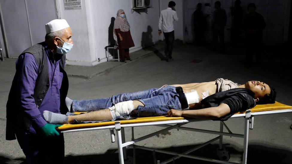 Suicide Bombing Kills 24 in Kabul, Afghanistan