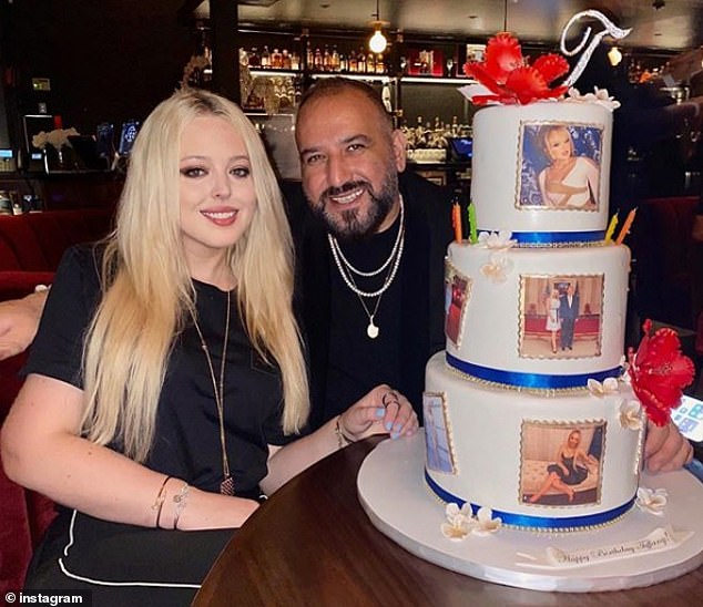Tiffany Trump Celebrates 27th in Miami