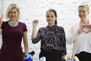 European Union Awards Sakharov Award To Belarus opposition