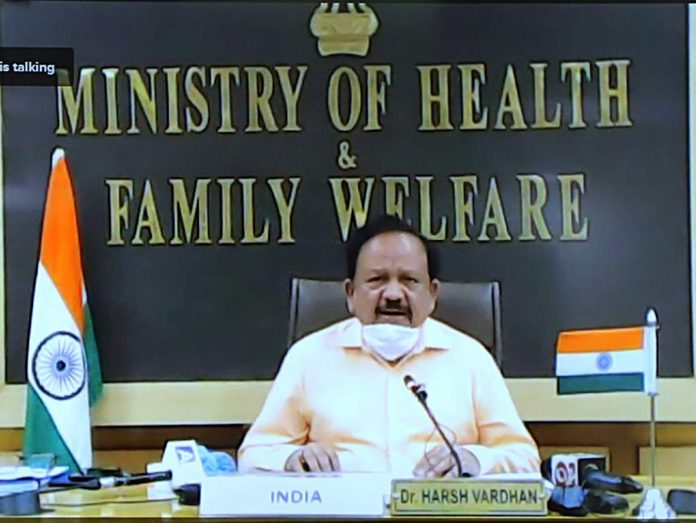 Harsh Vardhan, Union Health Minister Of India Claims Community Transmission Is Restricted
