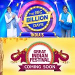 The Big Billion Days Sale and Great Indian Festival Sale Receive Massive Openings