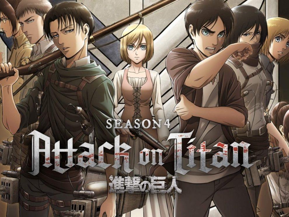Attack on titan Season 4 Updates