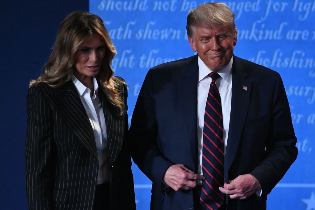 Melania Trump found COVID-19 positive