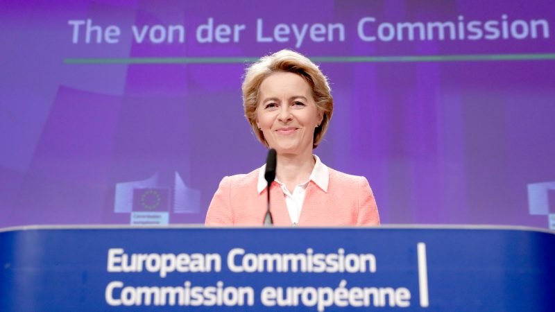 Von Der Leyen Criticizes Internal Market Bill