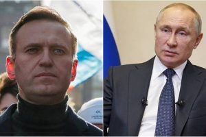 Navalny accuses Putin of poisoning him