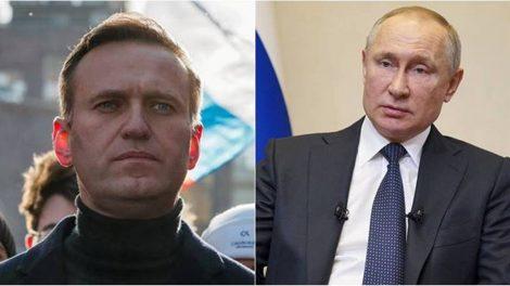 Navalny accuses Putin of poisoning him