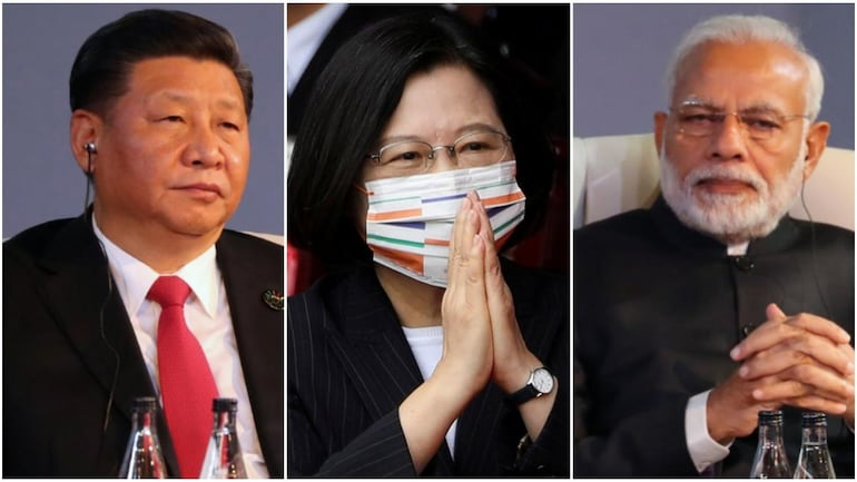 India-Taiwan Relations Upsets China