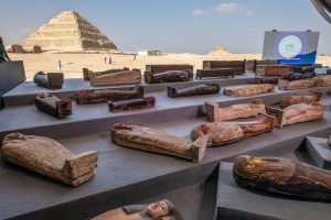 Mummies in Egypt