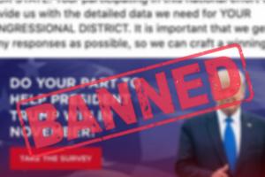 Facebook banned US political Ads