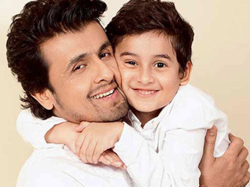 Singer Sonu with son Naviin
