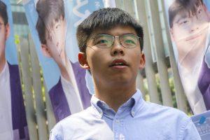 Activist Joshua wong