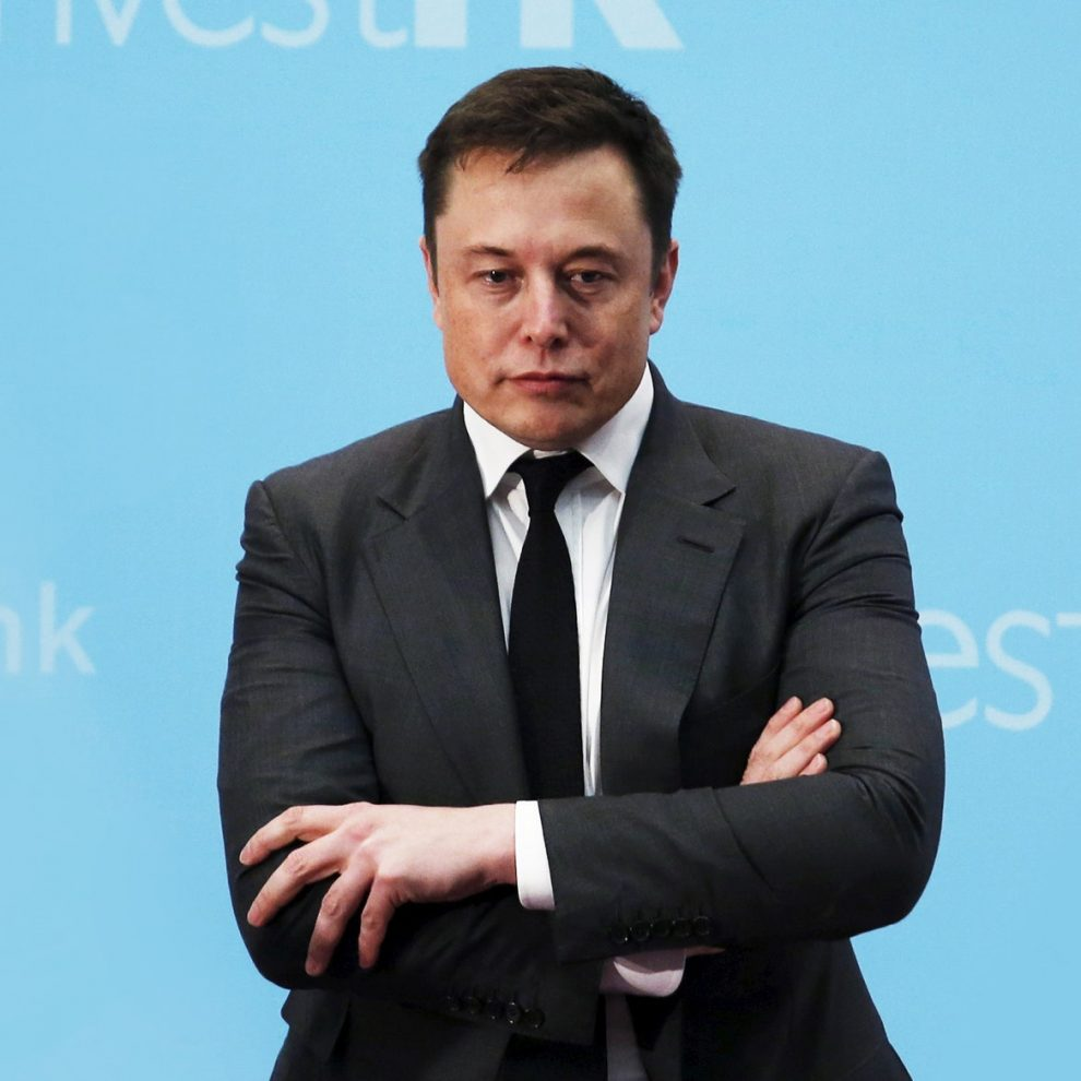 Elon Musk Magazine Shoot