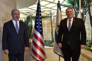 Pompeo Visits to Israel Settlement