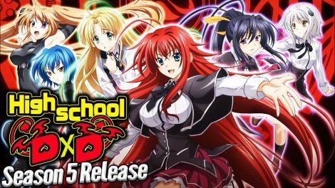 Highschool DXD Season 5 Updates