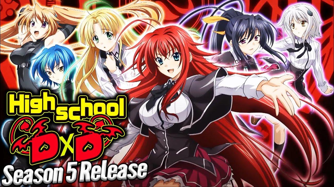 Highschool DxD Season 5