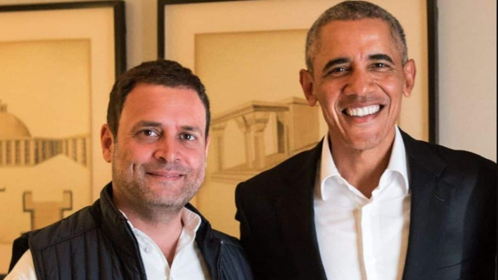 Barack Obama on Rahul Gandhi