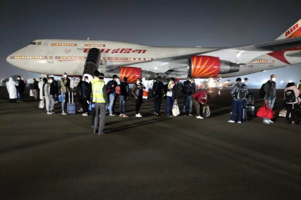 Despite positive testing, Air India Express crew member boards the flight