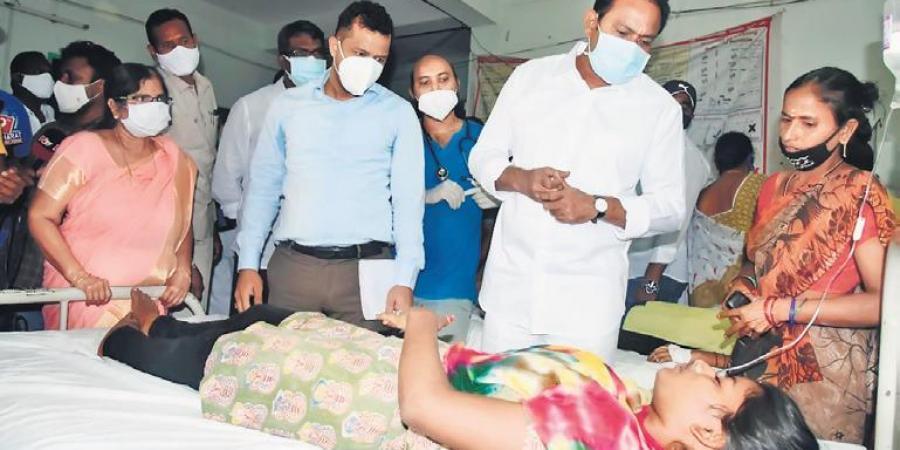 300 people hospitalised in Andhra Pradesh as a mystery disease spreads