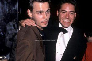 Robert Downey Jr Johnny Deppp