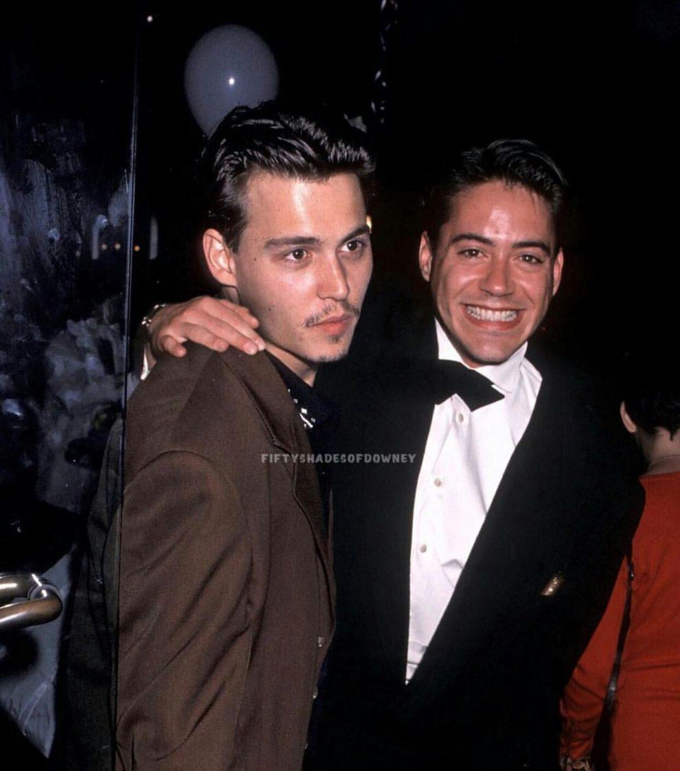 Robert Downey Jr Johnny Deppp