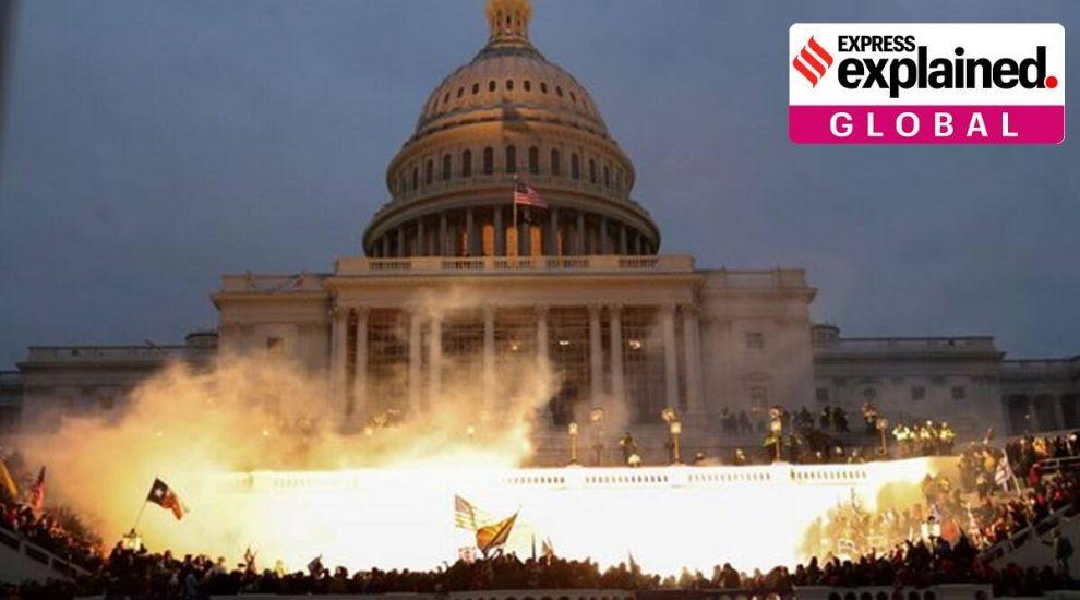 Capitol Trump