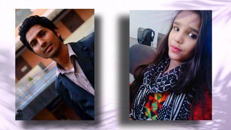 Zubair Shaikh and Sudha Yadav